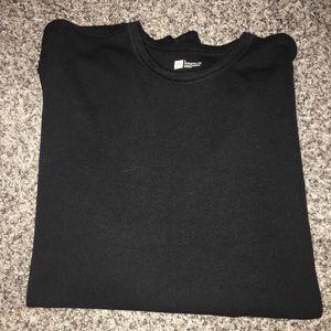 Gap Black Long Sleeve T-shirt - Size L